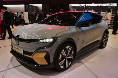 Renault представила в Мюнхене электрический Megane