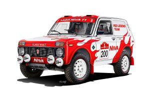 АвтоВАЗ стал спонсором энтузиастов, которые поедут на «Дакар» на раллийной Ниве