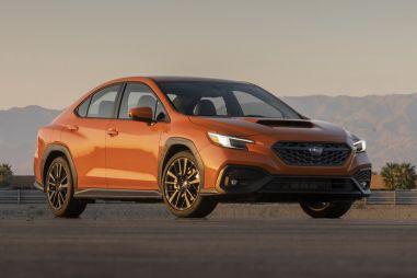 Subaru показала новый WRX: он построен не на базе Импрезы