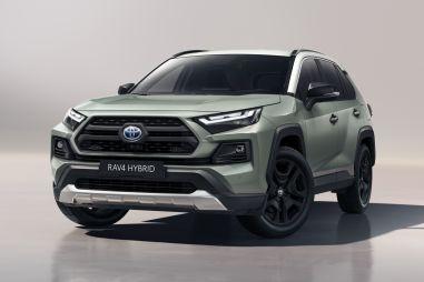 Toyota предложила европейцам RAV4 Adventure