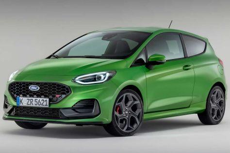 Ford Fiesta после рестайлинга уже в базе оснащается светодиодными фарами