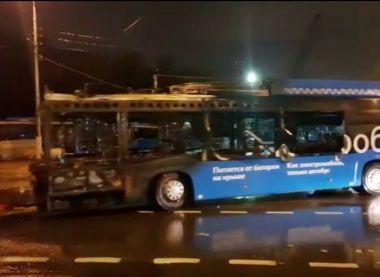 В Москве — первый случай самовозгорания электробуса
