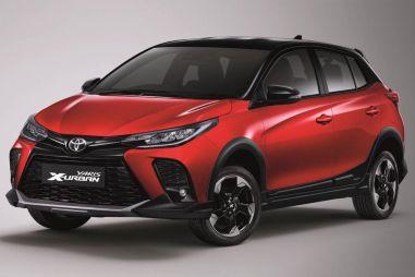 Toyota обновила Yaris и показала кросс-версию X-Urban