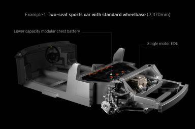 Lotus спроектировала легкое шасси для электромобилей