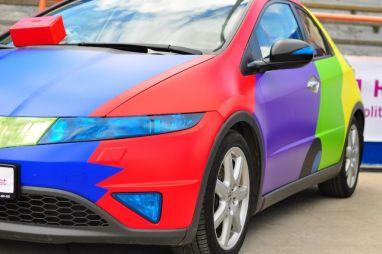 Названы самые популярные цвета автомобилей в России в 2021 году