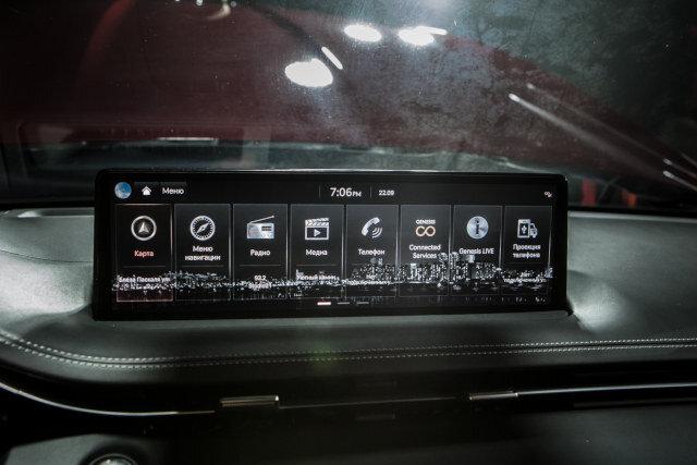 Клиренс — 19 см, отвертка в Калининграде, тележка — от GV80: в России представили кроссовер Genesis GV70