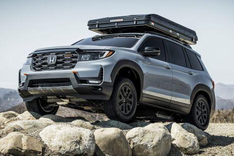 Honda представила первую модель под суббрендом TrailSport