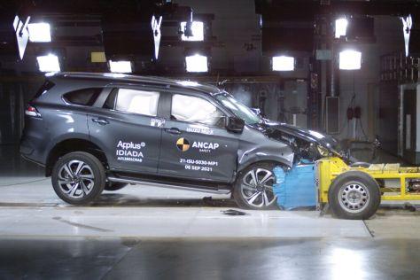 ВИДЕО: Toyota Yaris Cross и Isuzu MU-X блестяще справились с краш-тестом ANCAP