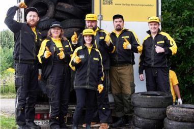 Dunlop развивает экологическую программу «ЭкоПатруль Dunlop»