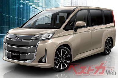 Раскрыты подробности о следующем поколении Toyota Noah