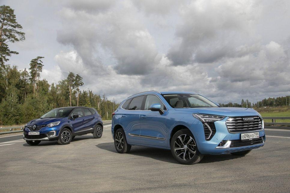 Haval Jolion и Renault Kaptur. Аргументы в пользу «китайца»