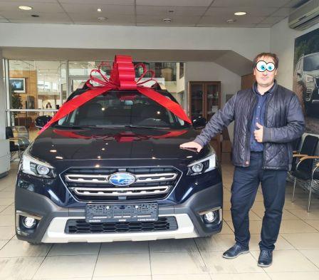 Subaru Outback 2021 - отзыв владельца