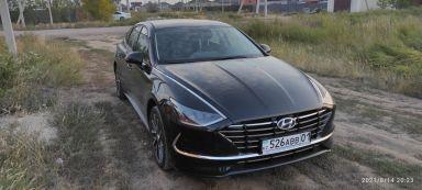 Hyundai Sonata 2021 отзыв автора | Дата публикации 16.09.2021.