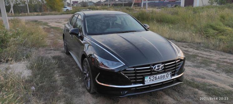 Hyundai Sonata 2021 - отзыв владельца