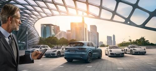 Покупка Porsche онлайн. Три простых шага