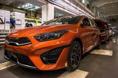 В России начали выпускать обновленный Kia Ceed