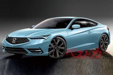 Honda Integra нового поколения может выйти в Японии в виде седана и купе