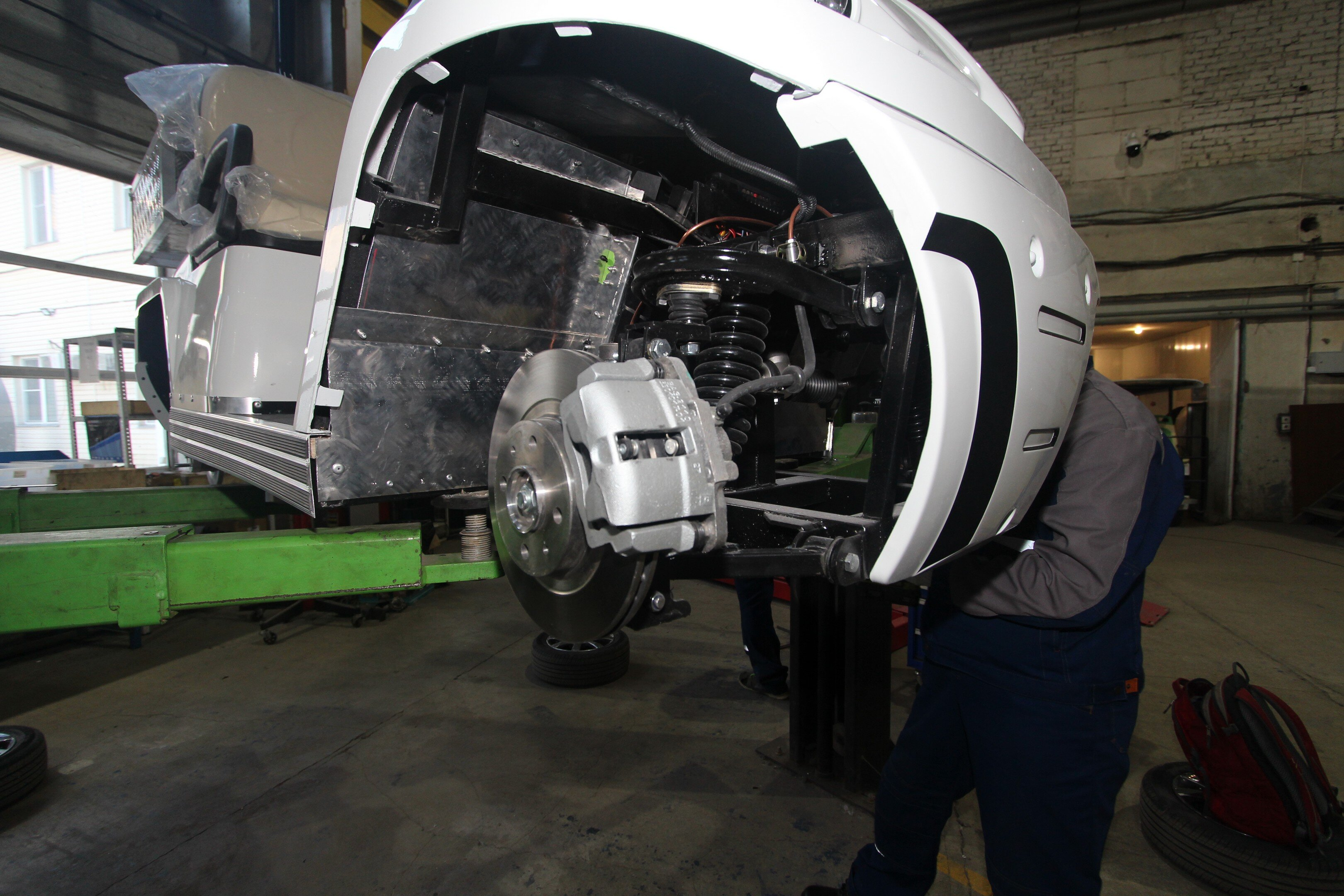 Конкордия готовит к производству новый электромобиль