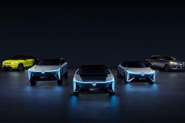 Honda показала пять электромобилей для Китая