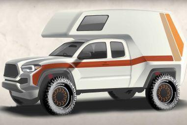 Toyota анонсировала автокемпер на базе пикапа Tacoma TRD