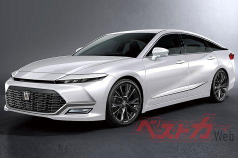 Следующая Toyota Crown может оказаться четырехдверным купе
