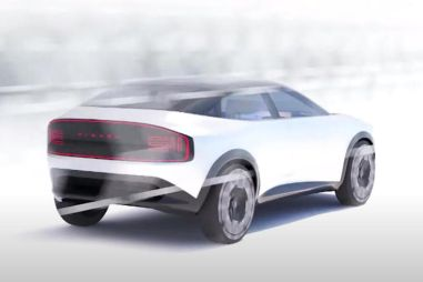 Электрический хэтчбек Nissan Leaf станет кроссовером