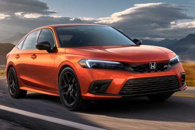 Honda показала драйверский седан Civic Si