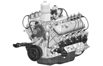 Мотор производился с модернизациями 60 лет.