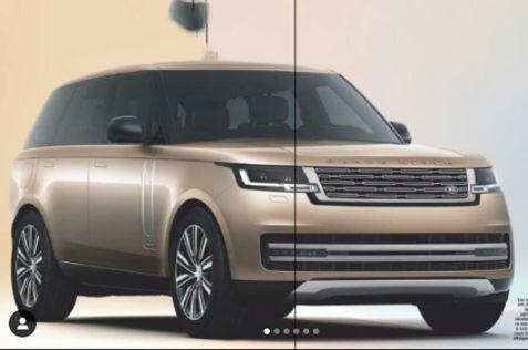 Фото Range Rover нового поколения попали в свободный доступ