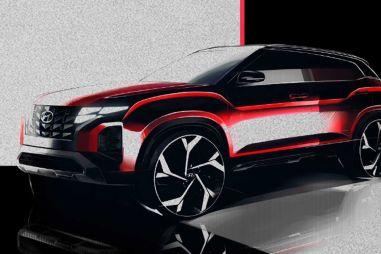 Для нового Hyundai Creta подготовили масштабный рестайлинг