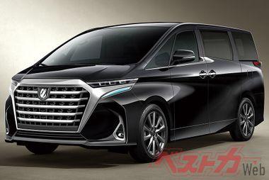 Какой будет новая Toyota Alphard: слухи из Японии