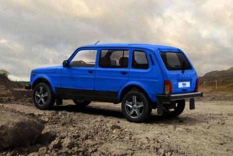 Пятидверная Lada Niva из-за дефицита чипов задержится на конвейере