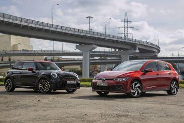 Mini JCW и Volkswagen Golf GTI. Горячие предложения осени-2021
