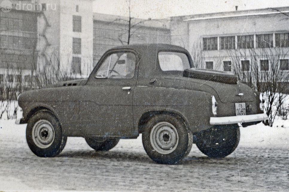 Советские внедорожники, о которых вы не знали или забыли