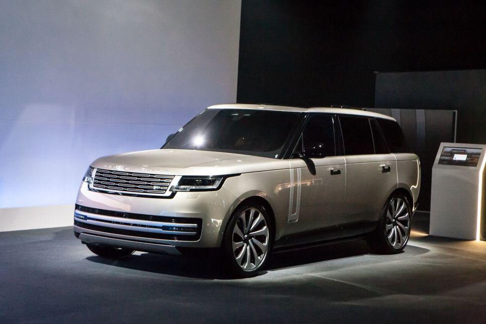 Range Rover пятого поколения: впервые с 1970 года с двумя дифференциалами!