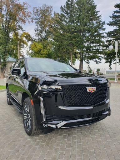 Cadillac Escalade 2021 отзыв автора | Дата публикации 17.10.2021.