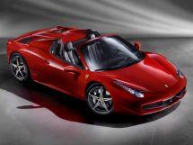 Ferrari 458 Spider 2011, открытый кузов, 1 поколение