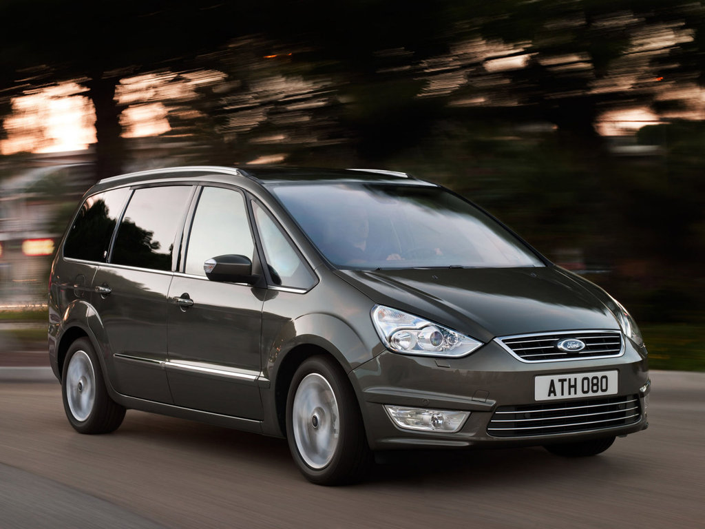 Какие параметры у третьего поколения Ford Galaxy