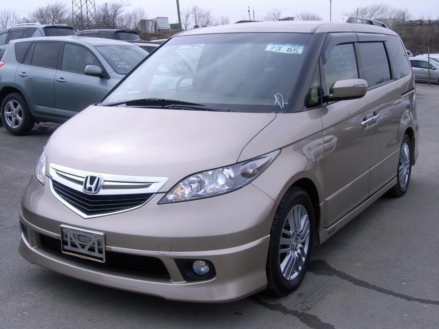 Honda Elysion 2004, 2005, 2006, минивэн (3 ряда сидений ...