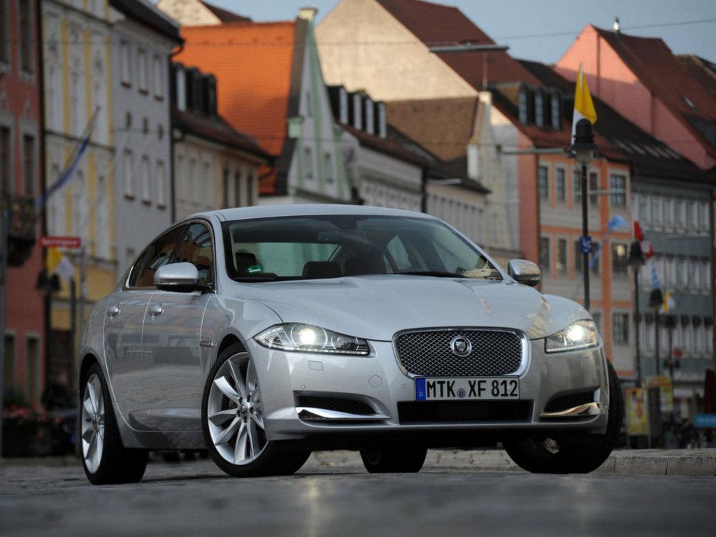 Jaguar XF рестайлинг 2010, 2011, 2012, 2013, 2014, седан ...