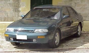 nissan bluebird, 1993 год