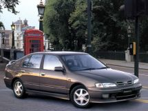 Nissan Primera рестайлинг 1997, лифтбек, 2 поколение, P11