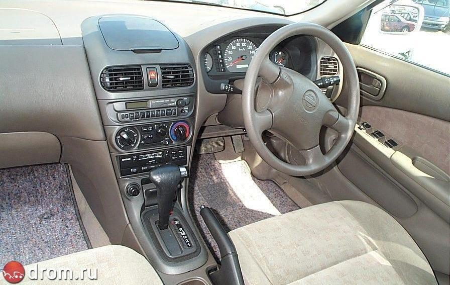 Nissan Sunny 1998 1999 2000 2001 2002 седан 9