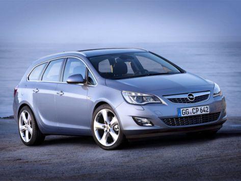 Opel Astra (J) 09.2010 - 08.2012