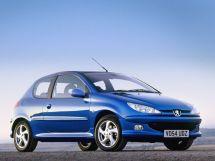 Peugeot 206 рестайлинг 2003, хэтчбек, 1 поколение