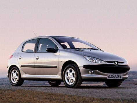 Peugeot 206  03.2003 - 09.2009