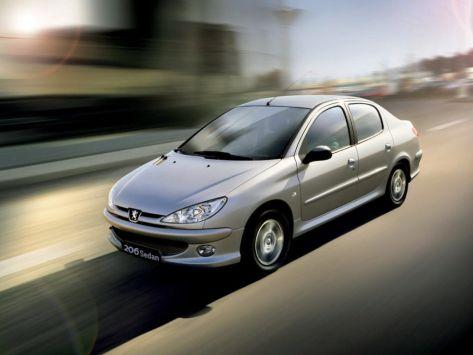 Peugeot 206  05.2006 - 09.2009