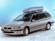 Peugeot 406 рестайлинг 1999, универсал, 1 поколение
