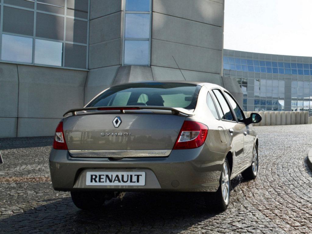 renault symbol комплектации