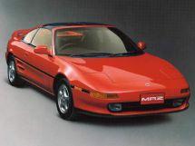 Toyota MR2 1989, купе, 2 поколение, W20